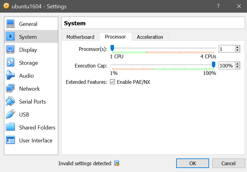 This kernel requires following features not present on the CPU: pae