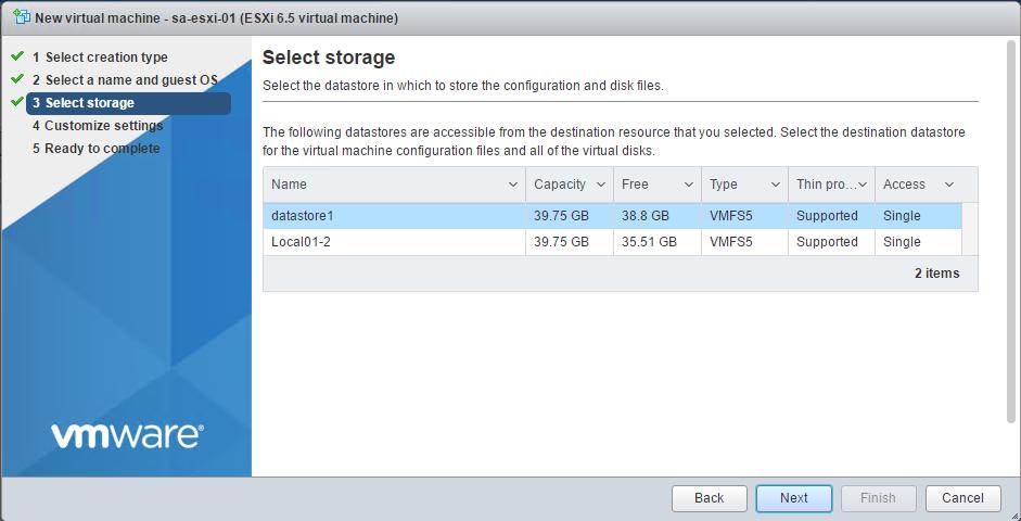 После перезагрузки VMware ESXi Datastore автоматически не монтируется