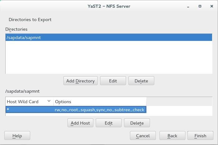 Как разрешить доступ root к NFS?