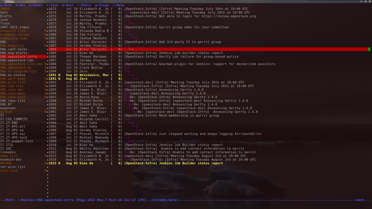 Как получить доступ к удаленному почтовому ящику на терминале Linux