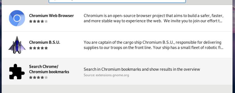 Как установить браузер Chromium в Fedora 29