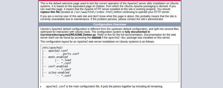 ⌨️ Как настроить виртуальный хост Apache в Ubuntu