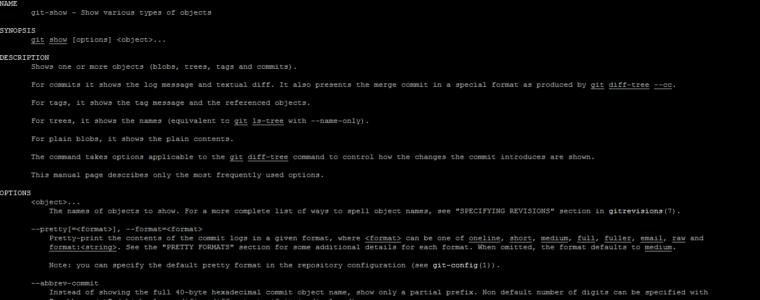 📂 Использование Git Show для просмотра содержимого файлов