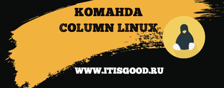 🐧 Различные способы использования команды Column на Linux