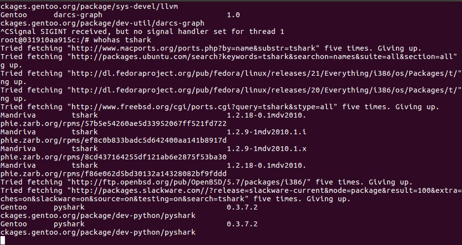 Как найти, что пакет доступен / не доступен на вашем дистрибутиве Linux