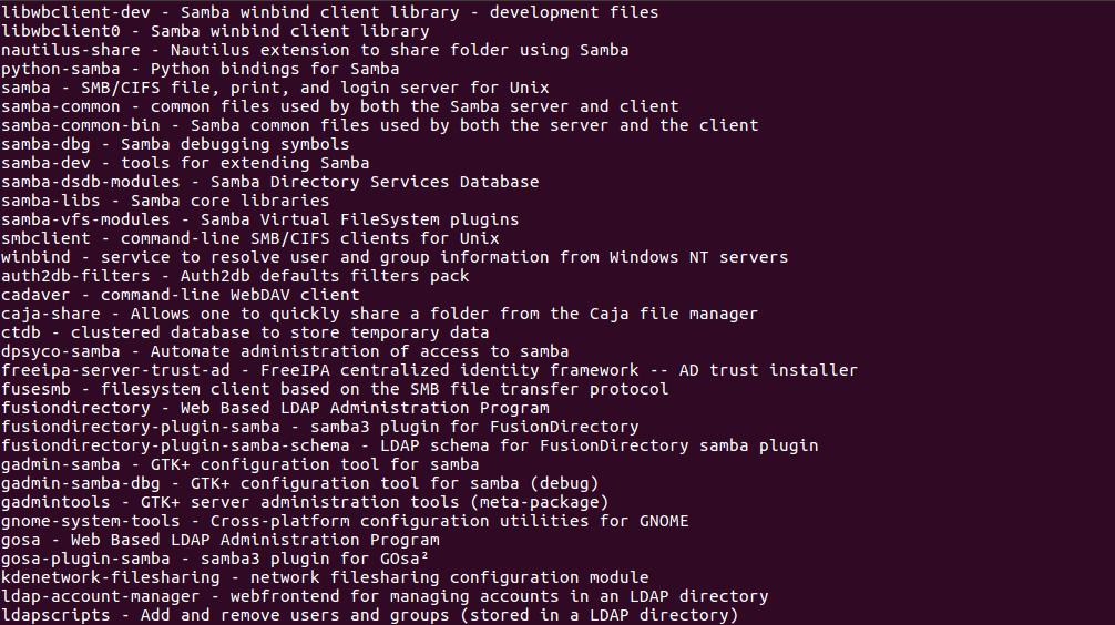 Samba Pdc с поддержкой ldap Пример файла smb.conf