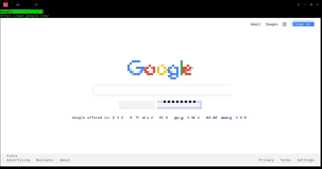 Browsh — современный текстовый браузер, поддерживающий графику и видео