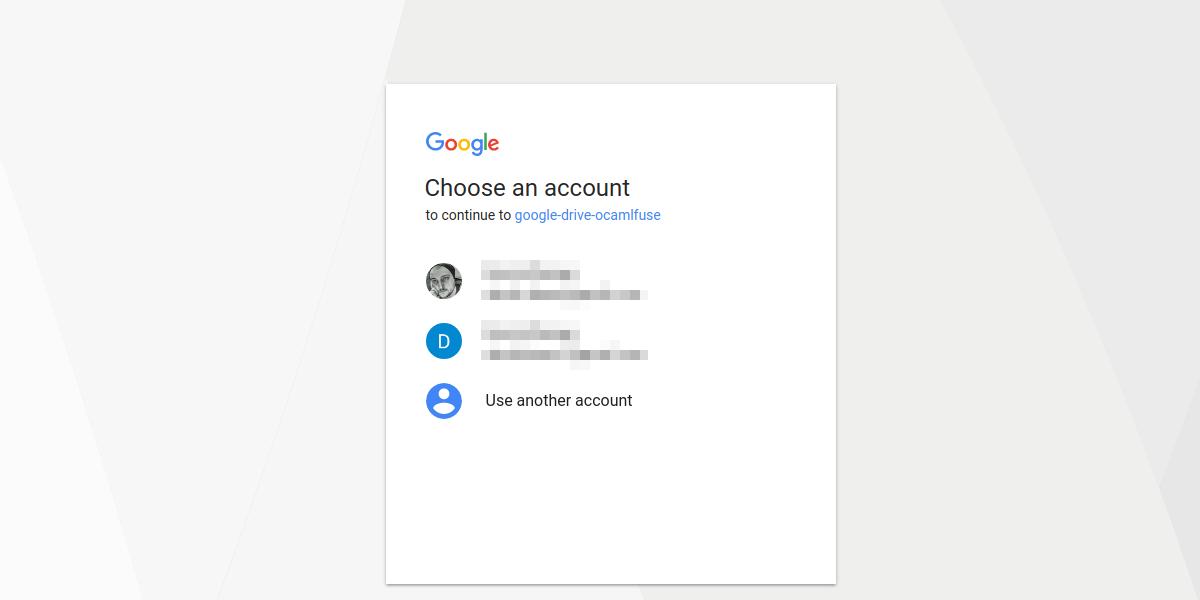 Как смонтировать Google Drive локально как виртуальную файловую систему в Linux