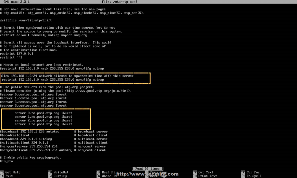 Как настроить сервер и клиент NTP в CentOS / RHEL 7