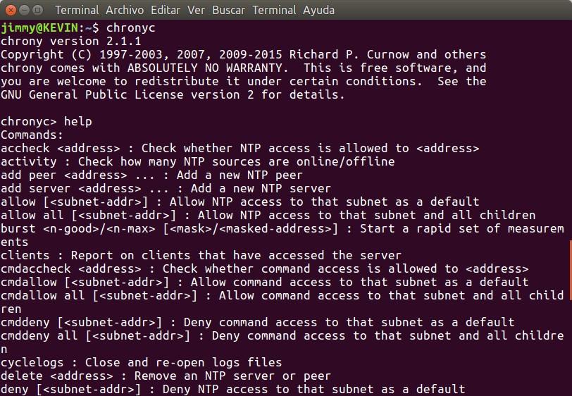 Chrony — альтернативный клиент и сервер NTP для Unix-подобных систем