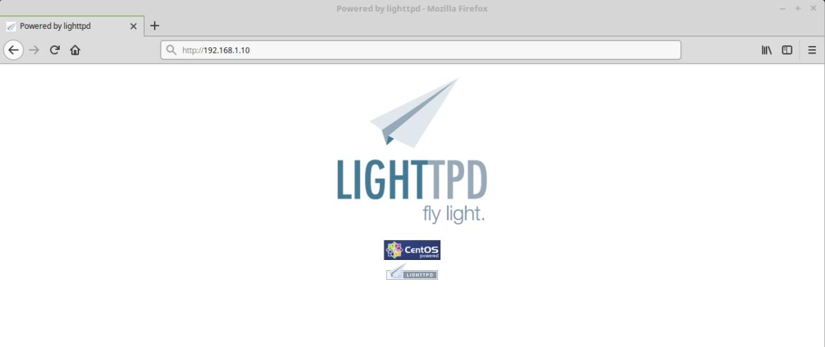Как установить веб-сервер Lighttpd в Linux