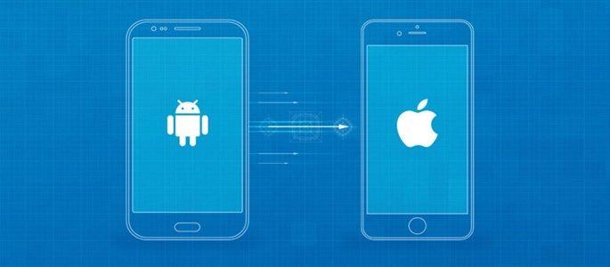Как перенести данные с Android на iPhone и наоборот
