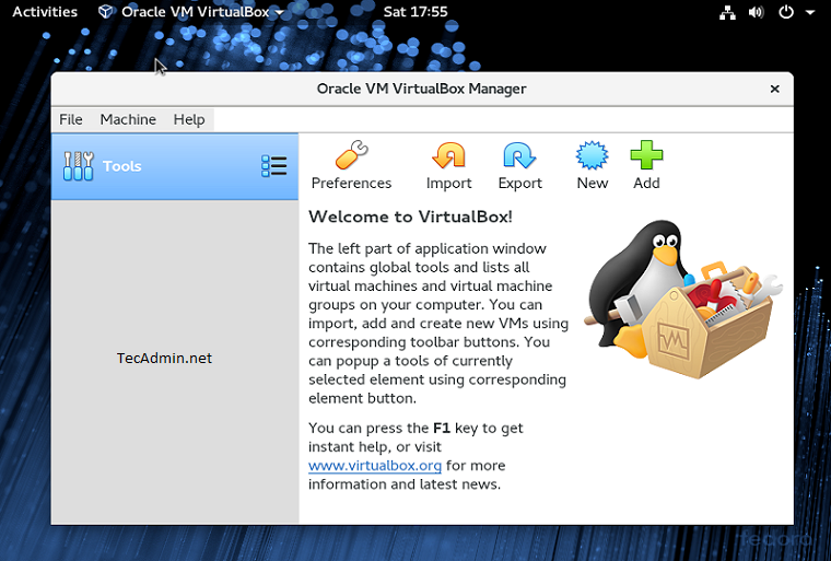 Как установить Oracle VirtualBox 6.0 на Fedora 29/28/27
