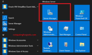 Как разрешить эхо-ответ ICMP на Windows Server 2019