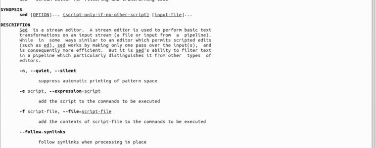 📓 Как удалить строки, соответствующие определенному шаблону в файле, используя SED
