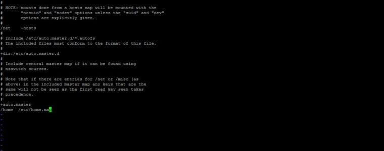 🐧 Как смонтировать файловые системы NFS с помощью «autofs» в CentOS / RHEL