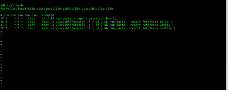 ? Как перечислить задания Cron в Linux