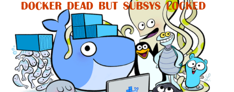 "🐋 ""docker dead but subsys locked"" – ошибка при запуске Docker"