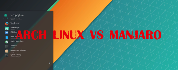 ? Arch Linux или Manjaro — Почему я использую Arch / Manjaro