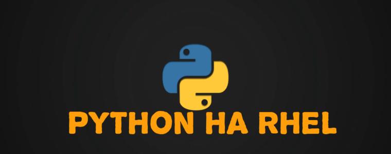 👾 Как установить Python 3 или Python 2 в RHEL 8