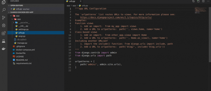 🐳 Как завернуть в Docker приложение Django в Ubuntu / Debian / CentOS