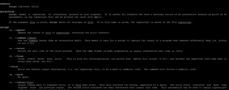 🐧 Как записать все, что вы делаете в терминале Linux