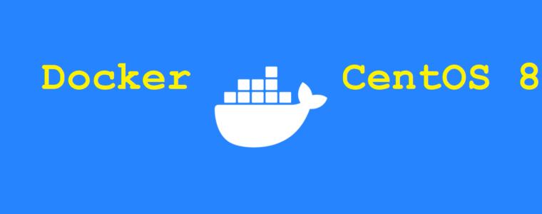 🐳 Как установить Docker на CentOS 8