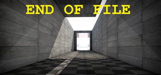 🐧 Что такое EOF (End Of File)? Примеры с PHP, C ++, C, Python, Java